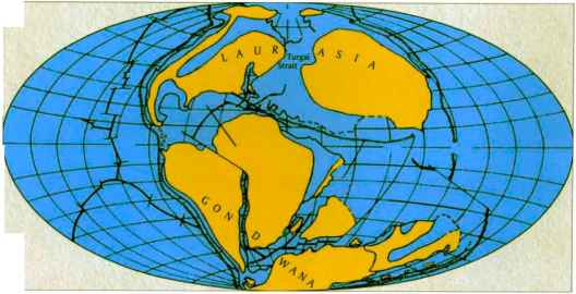Cretaceous Paleogeography Photos