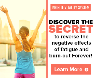 Increasing Your Vitality