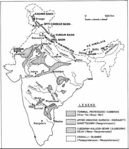 Classification Himalaya India Map