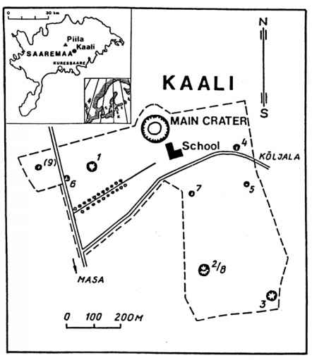 Early Descriptions Of The Main Crater Morphology